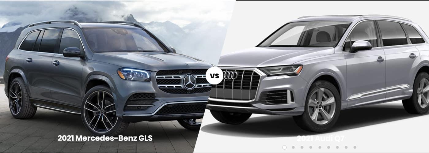 2021 Mercedes-Benz GLS vs. 2021 Audi Q7