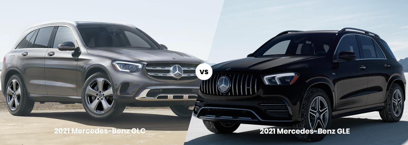 Mercedes-Benz GLC vs. Mercedes-Benz GLE