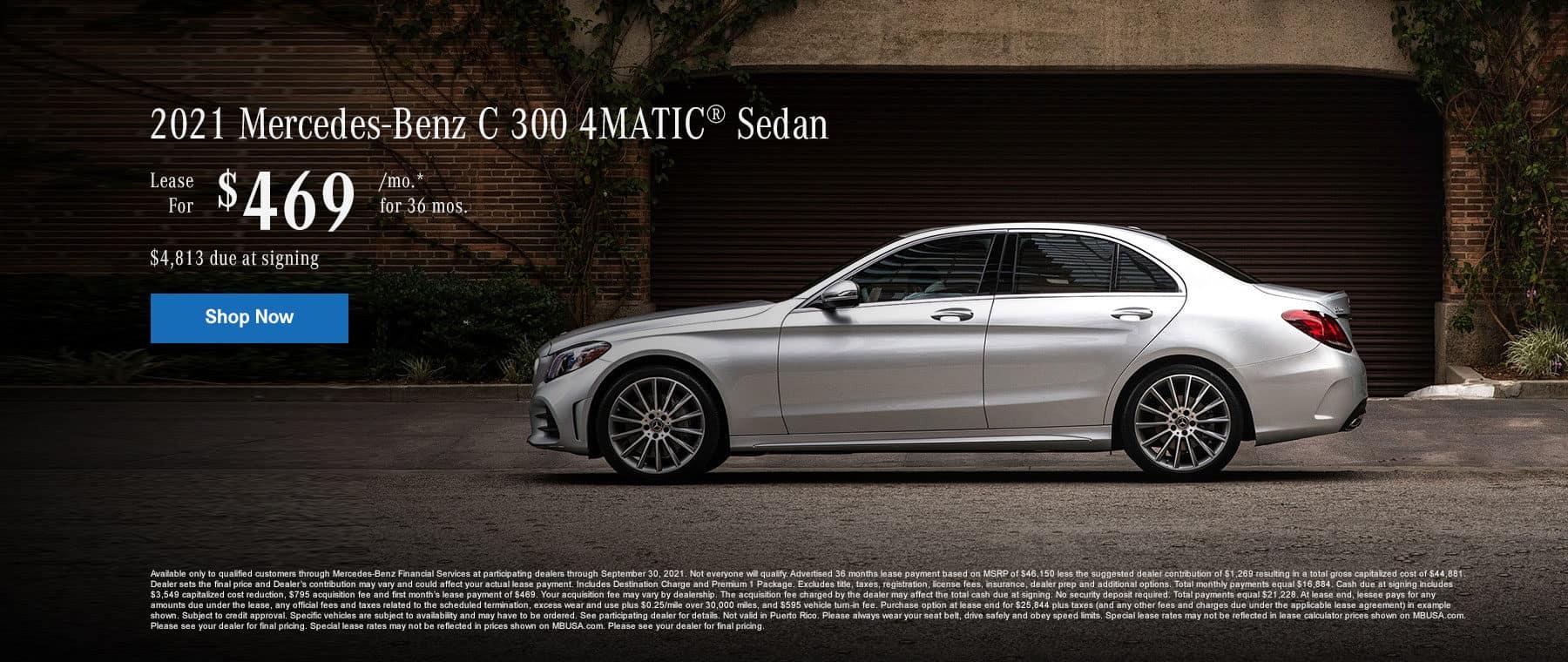 2021 Mercedes-Benz C 300 4MATIC® Sedan