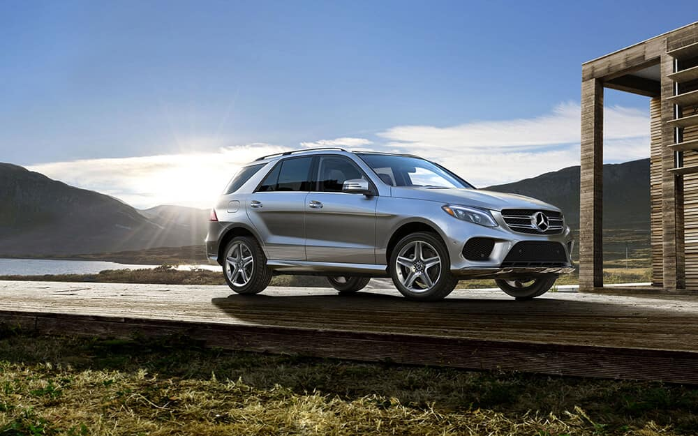 2018 MB GLE Parked