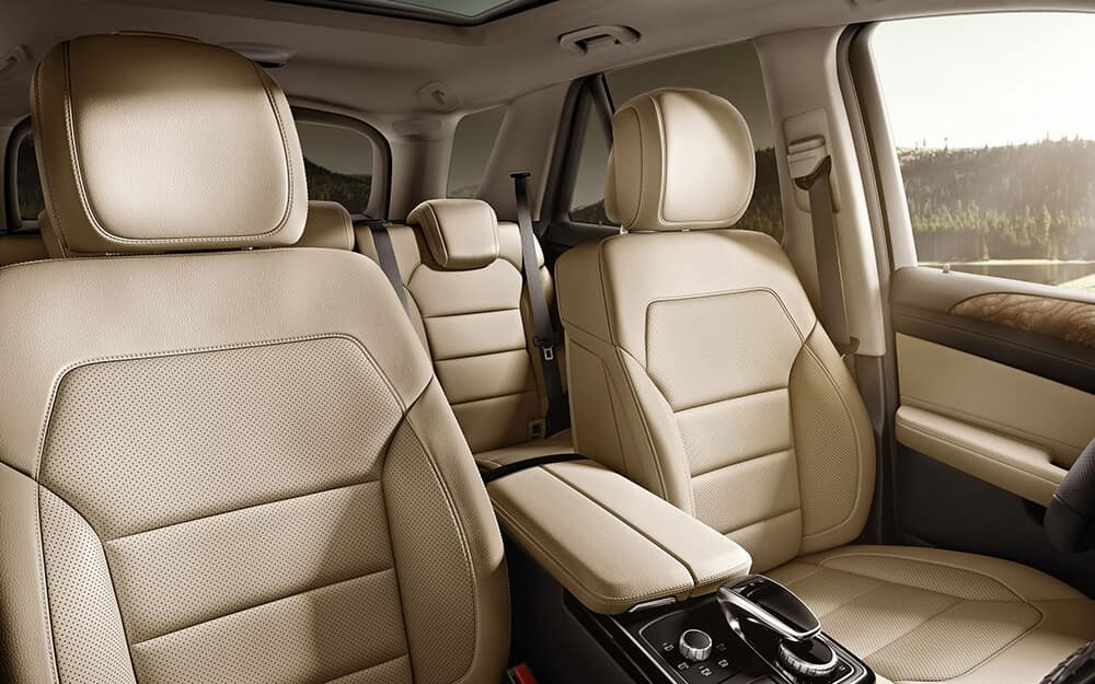 2018 MB GLE Seats