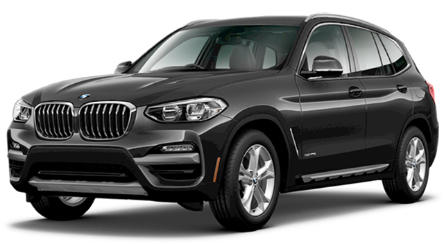 2018 BMW X3 Black