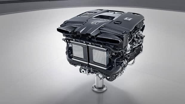 2018 MB AMG E 63 Motor