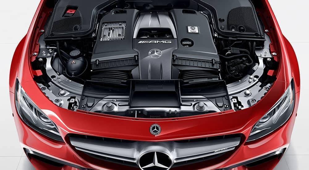 2018 MB E-Class Motor