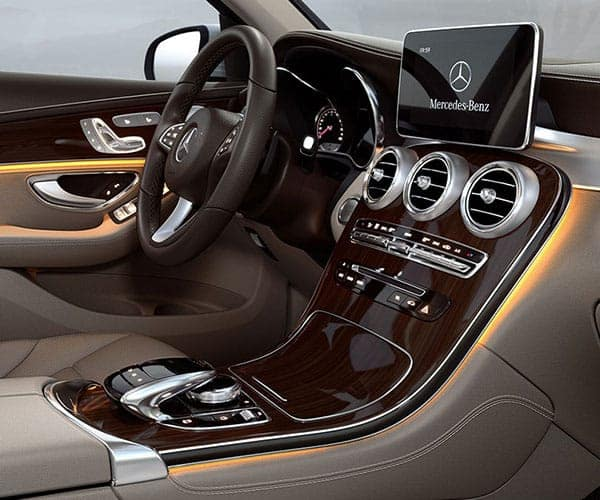 2019 Mercedes-Benz GLC SUV Interior