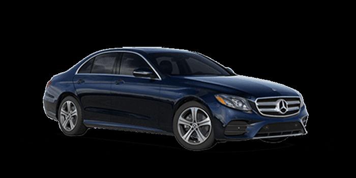 Blue 2019 Mercedes-Benz E-Class