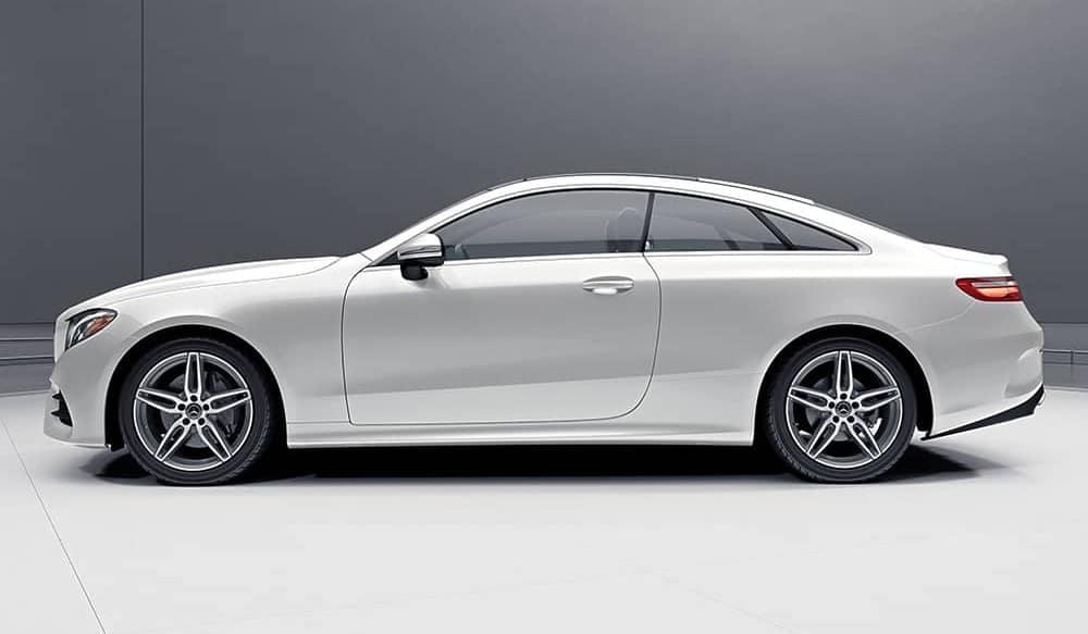 2019 Mercedes-Benz E-Class white side view