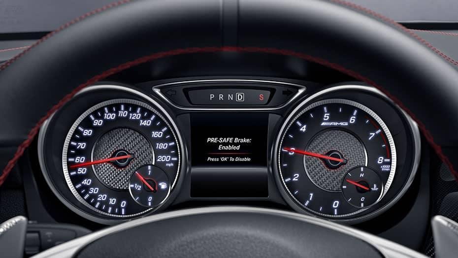 2019 Mercedes-Benz CLA dashboard