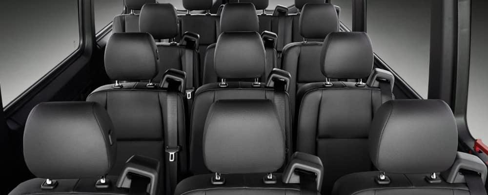 2019 Mercedes-Benz Sprinter interior seating