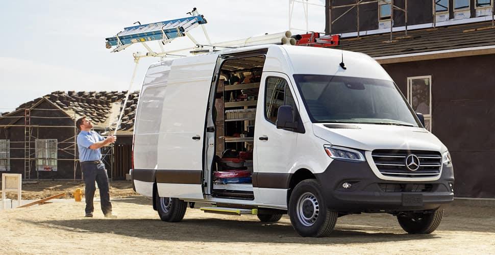 2019 Mercedes-Benz Sprinter on work site