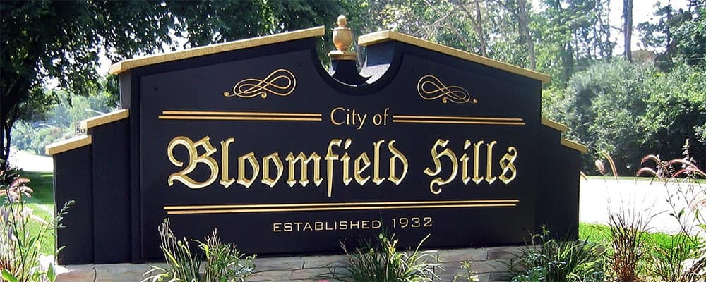 City of Bloomfield Hills