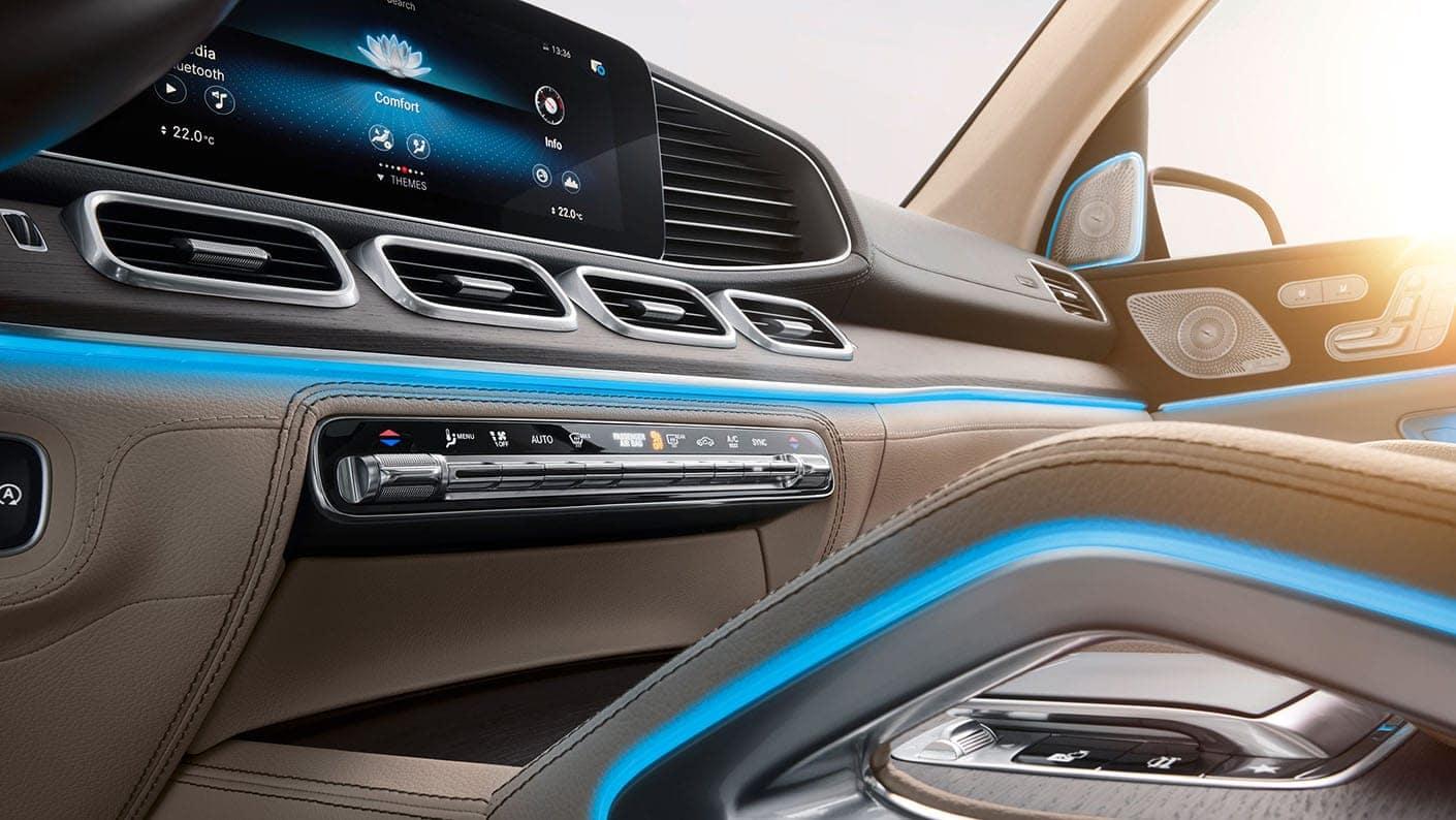 2020 Mercedes-Benz GLS SUV interior features