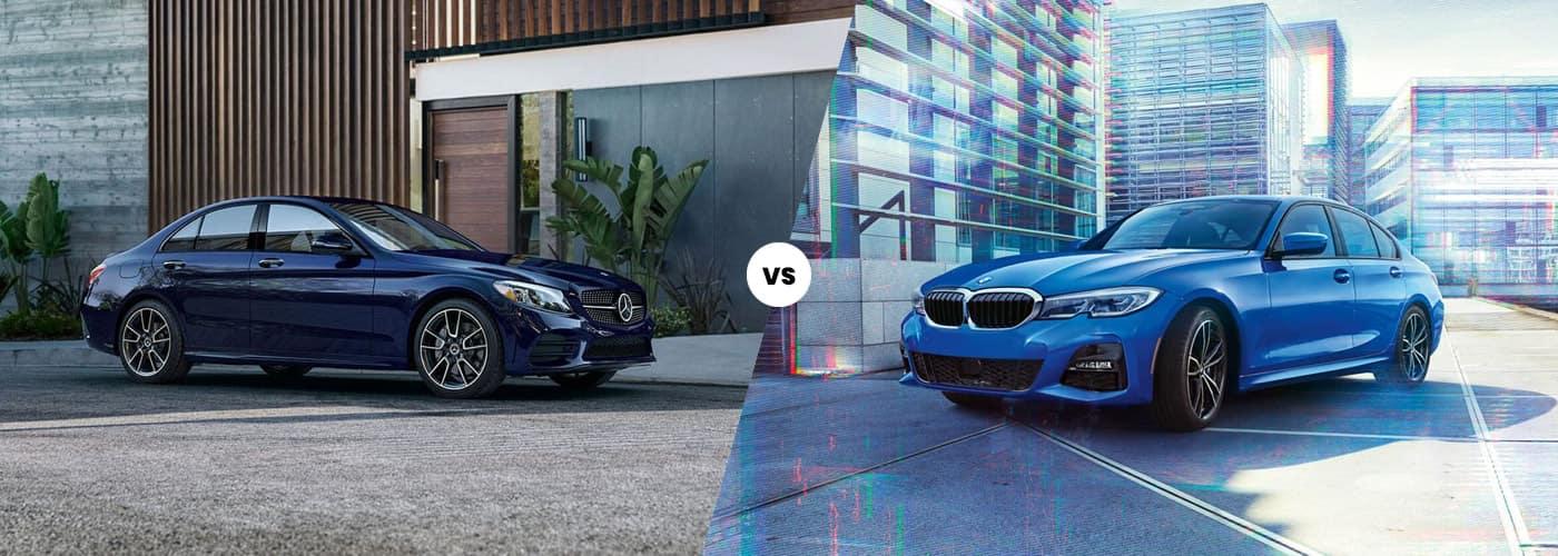 2020 Mercedes-Benz C-Class vs. 2020 BMW 3 Series