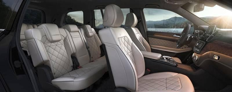 2017 Mercedes-Benz GLS 450 Interior