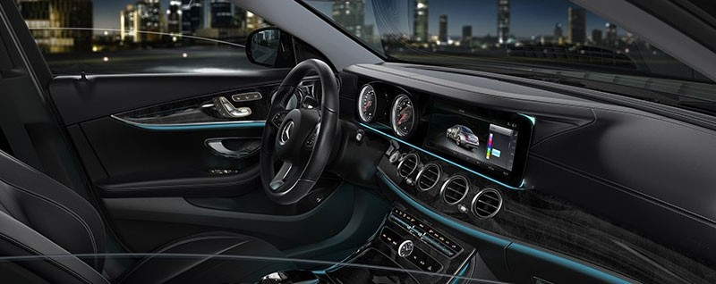 2017 Mercedes-Benz E-Class Sedan Interior