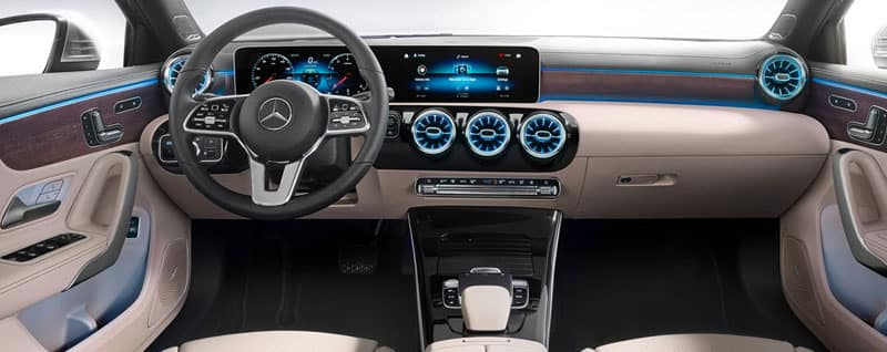2019 Mercedes-Benz A-Class Sedan Interior