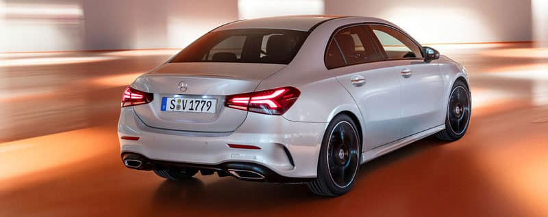 2019 Mercedes-Benz A-Class Sedan Exterior