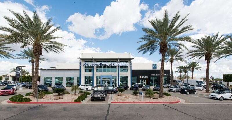 New and pre owned luxury auto dealer mercedes benz of for Mercedes benz of chandler arizona