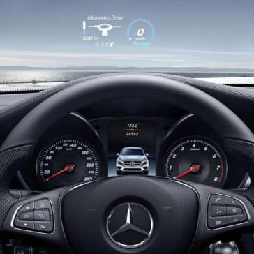 2019 Mercedes-Benz GLC Coupe steering wheel