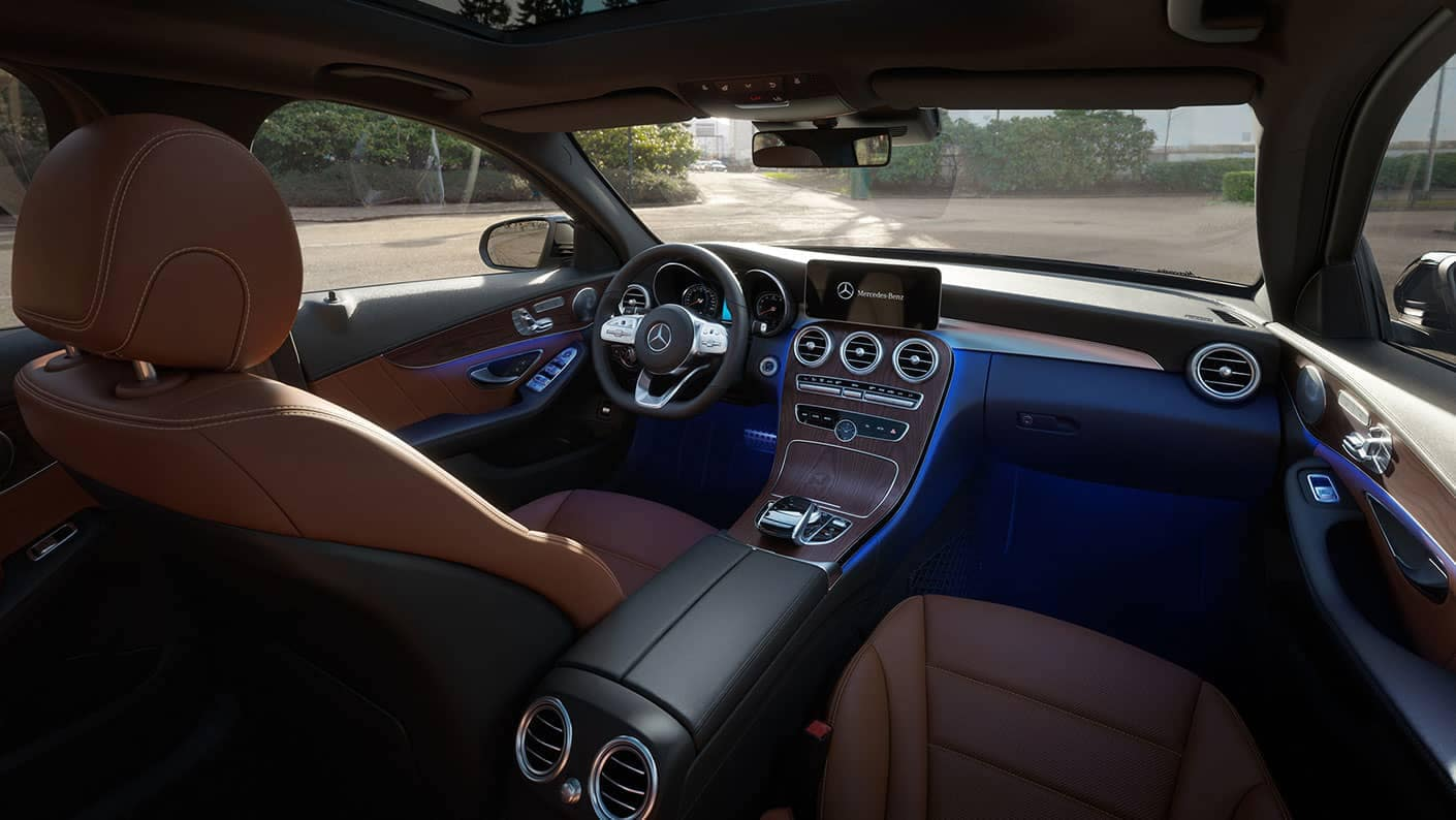 2019 Mercedes-Benz C-Class Sedan front interior