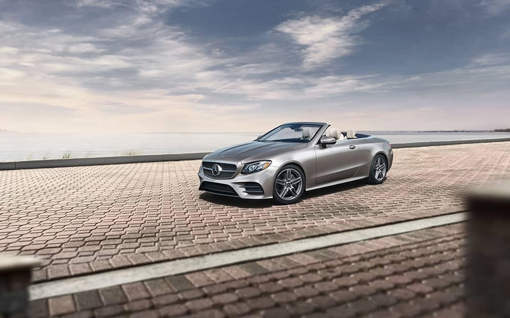 2019 Mercedes-Benz E-Class under cloudy sky