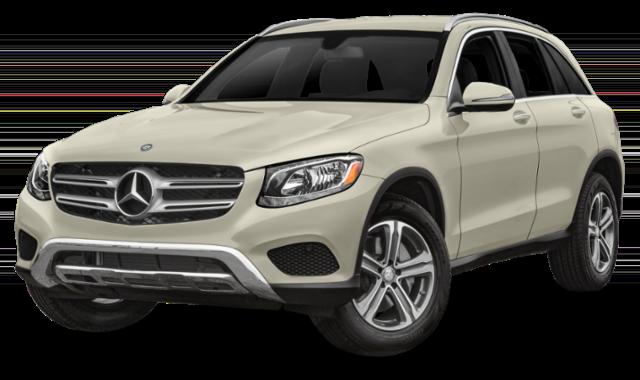 White Mercedes-Benz GLC
