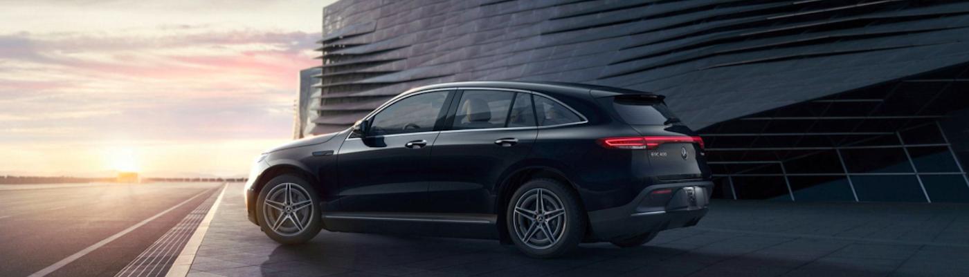Black Mercedes-Benz