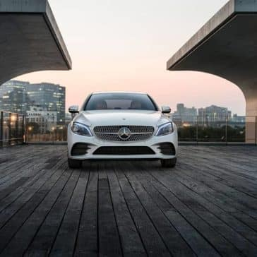 2020 MB C-Class Grill