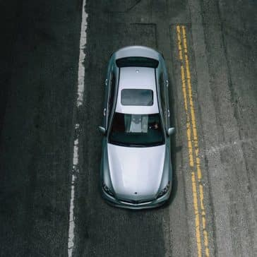 2020 MB C-Class Top View