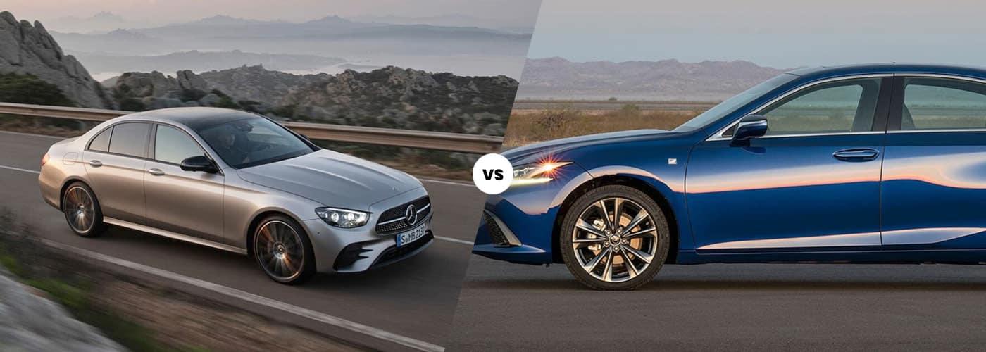 2021 Mercedes-Benz E-Class vs. 2021 Lexus ES