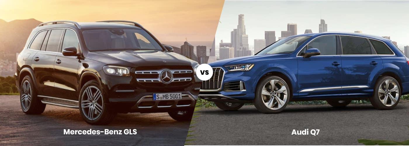 MB GLS vs. Audi Q7