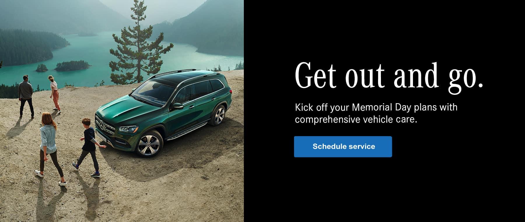 Mercedes-Benz memorial day services