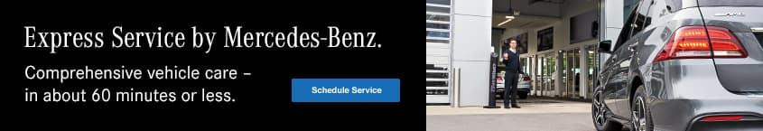 Mercedes-Benz of Spokane Express Service