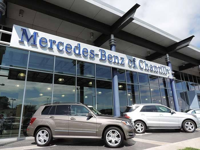 mercedes benz of chantilly luxury auto dealer near south