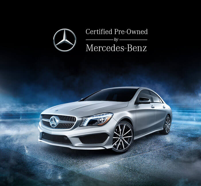 Certified Pre-Owned Mercedes-Benz Banner
