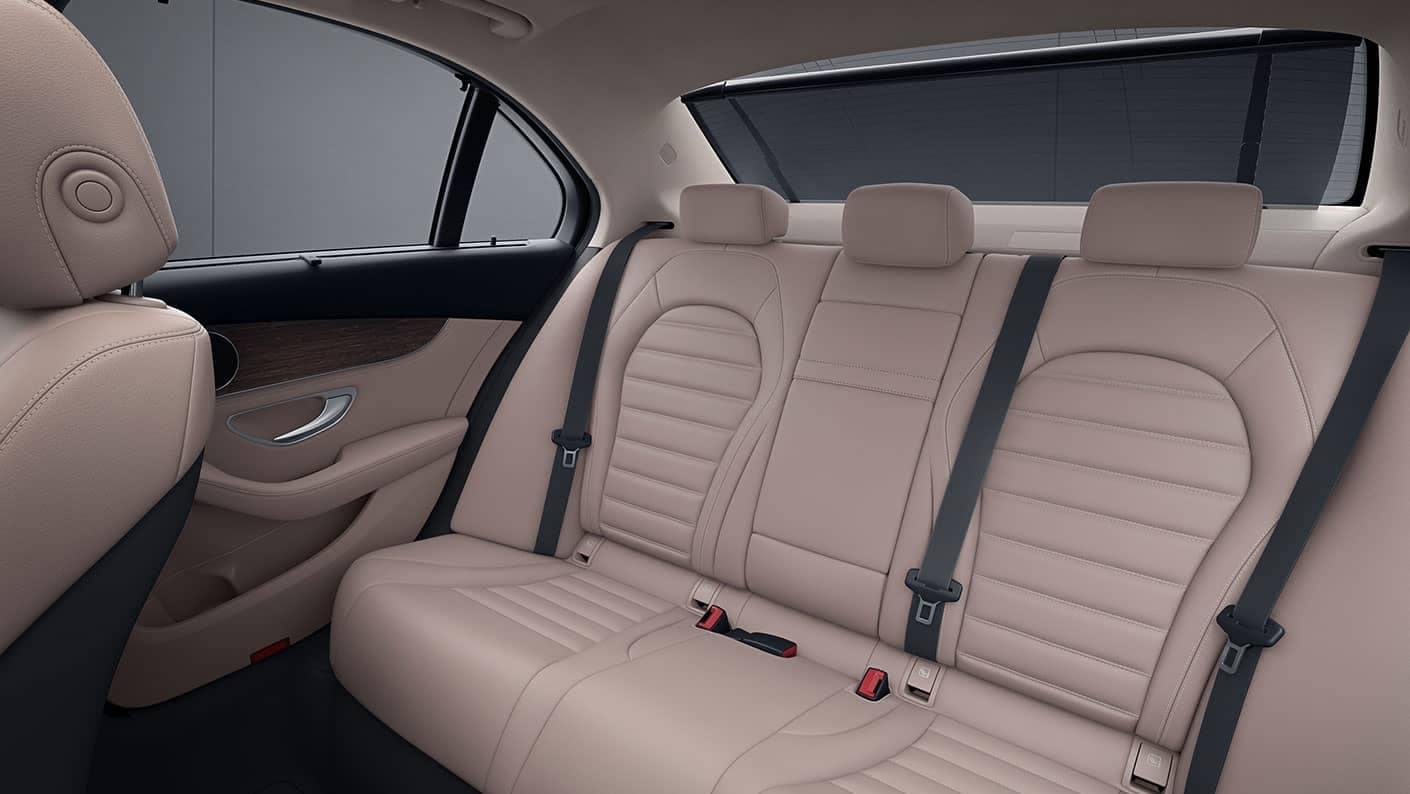 2019 Mercedes-Benz C-Class rear interior