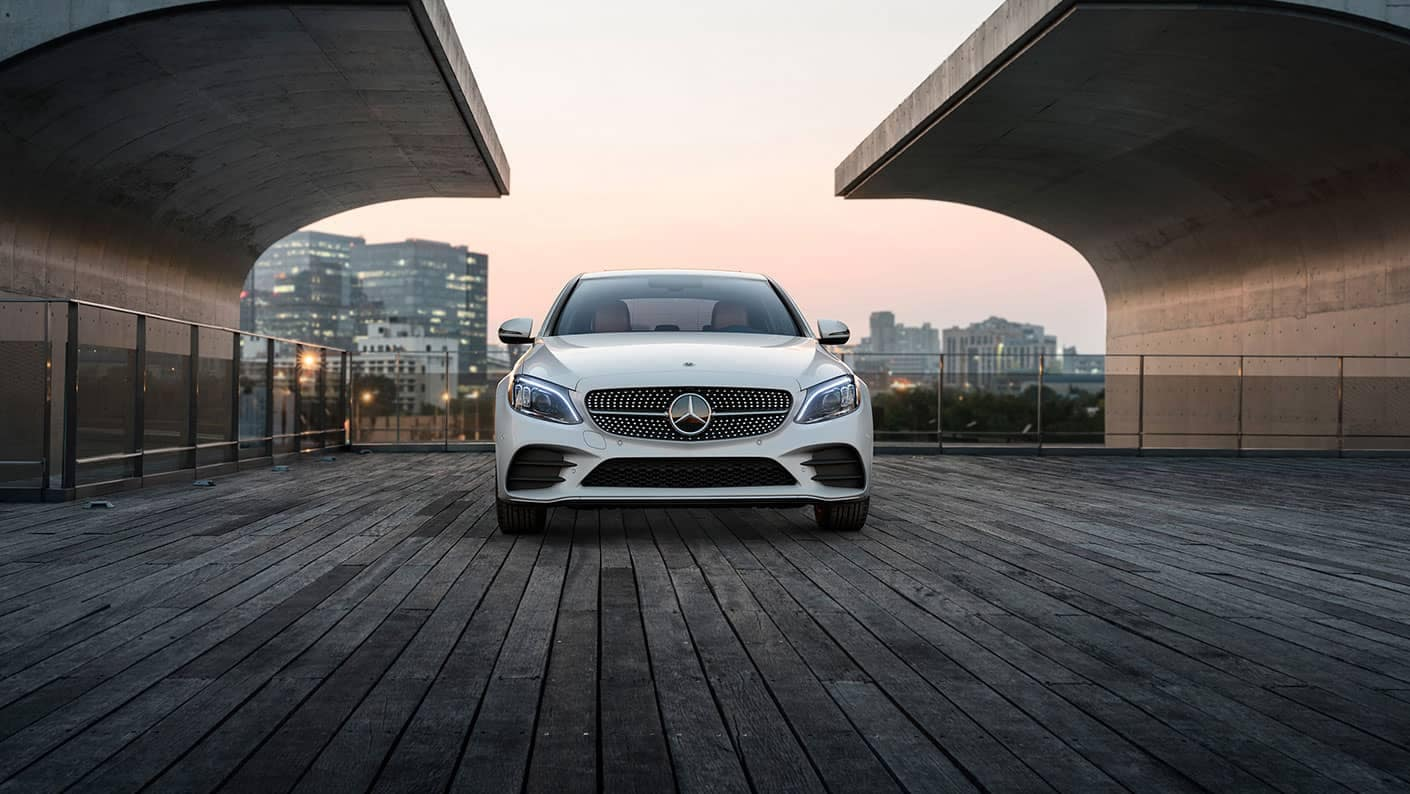 2019 Mercedes-Benz C-Class sedan front exterior