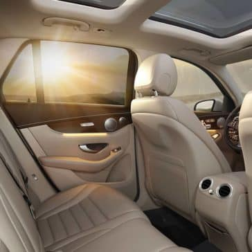 2019 Mercedes-Benz GLC SUV back interior