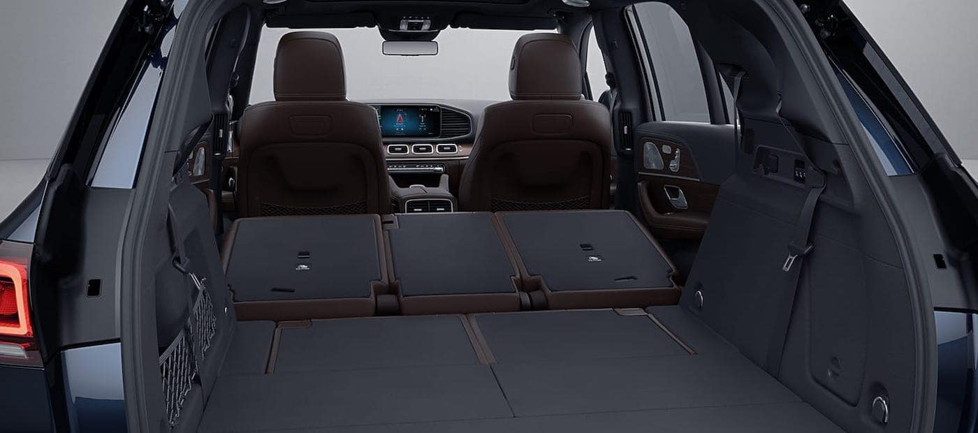 2020 mercedes-benz gle interior trunk view