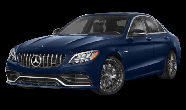 2019 mercedes-benz c-class blue exterior