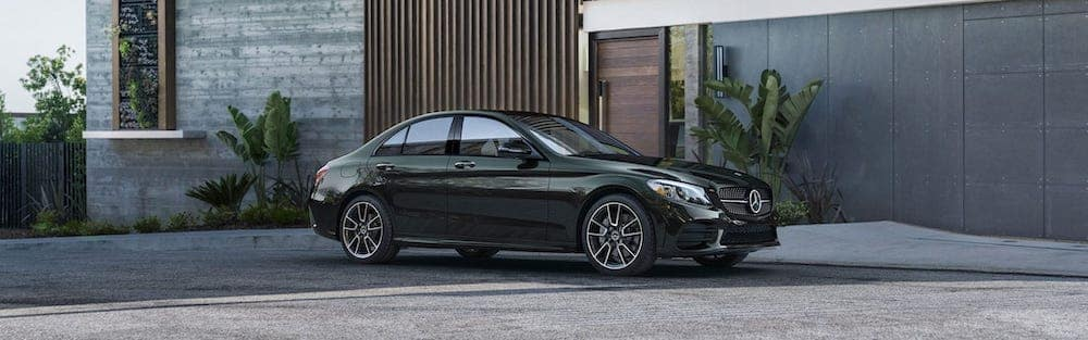 2019 mercedes-benz c-class sedan green exterior