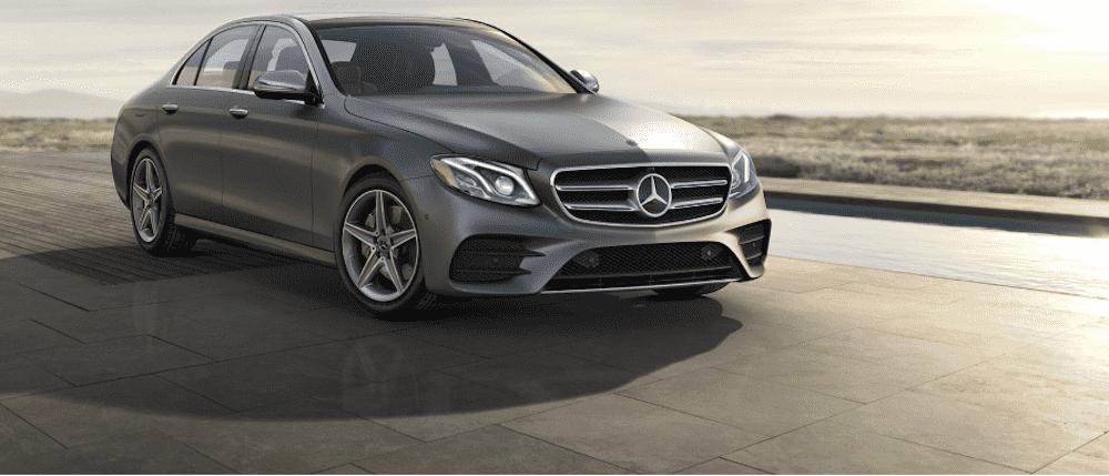 Gray 2020 Mercedes-Benz E-Class