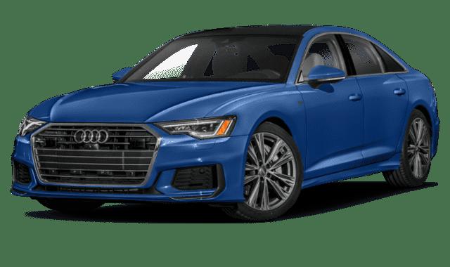 Blue 2020 Audi A6