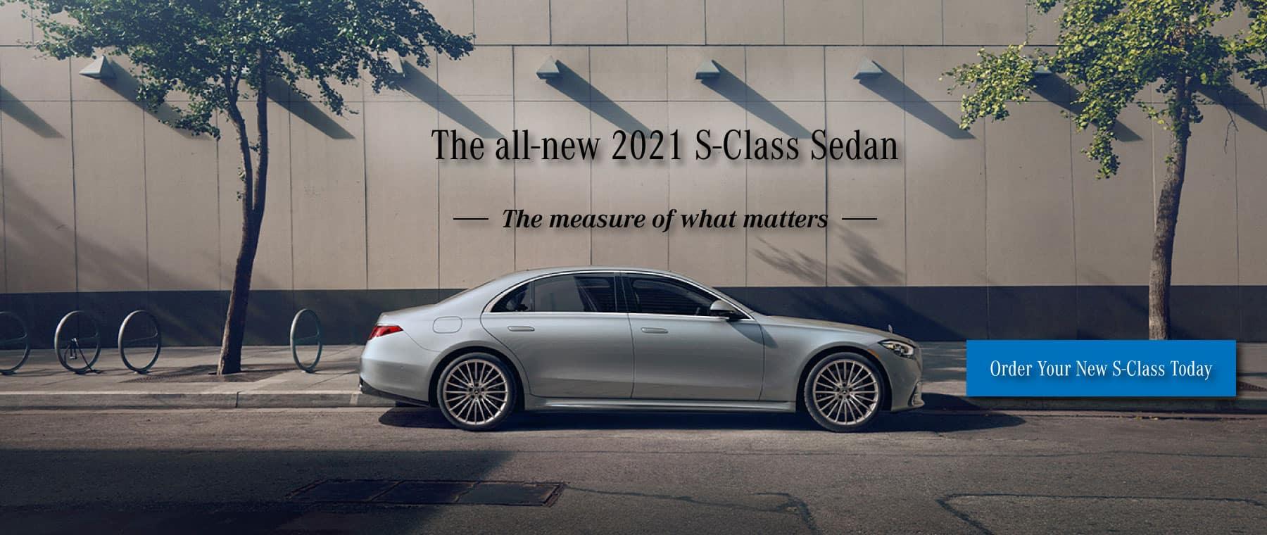 Mercedes-Benz of chantilly 2021 s-class sedan