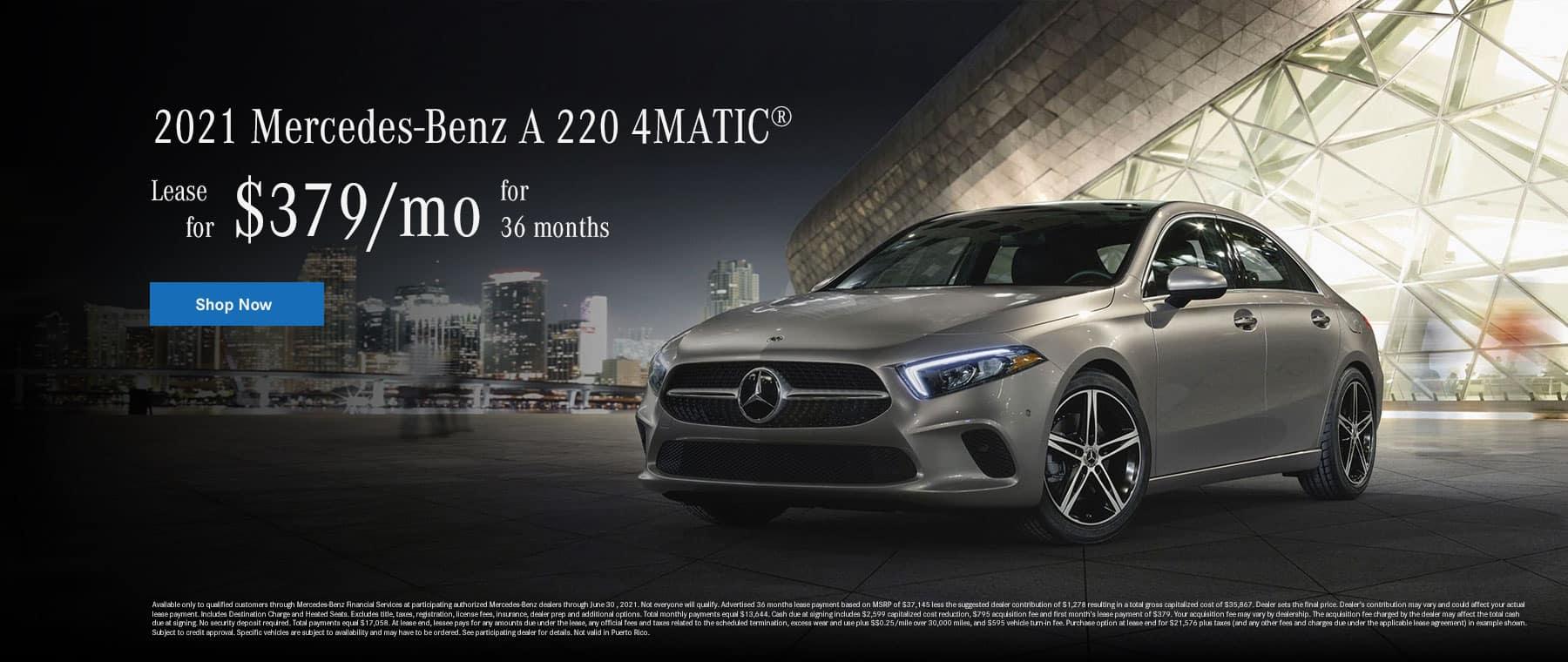 2021 A 220 4MATIC Sedan