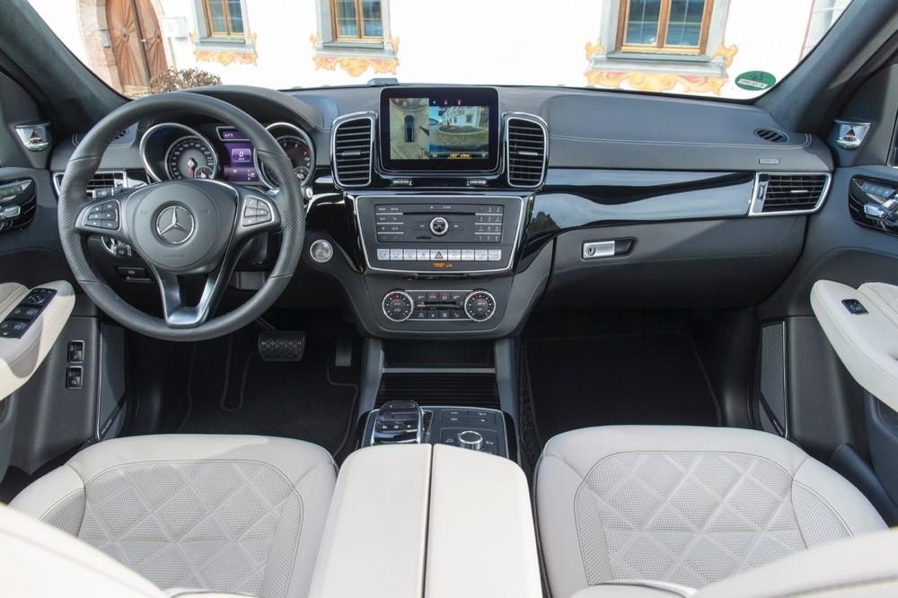 The Mercedes-Benz GLS-Class