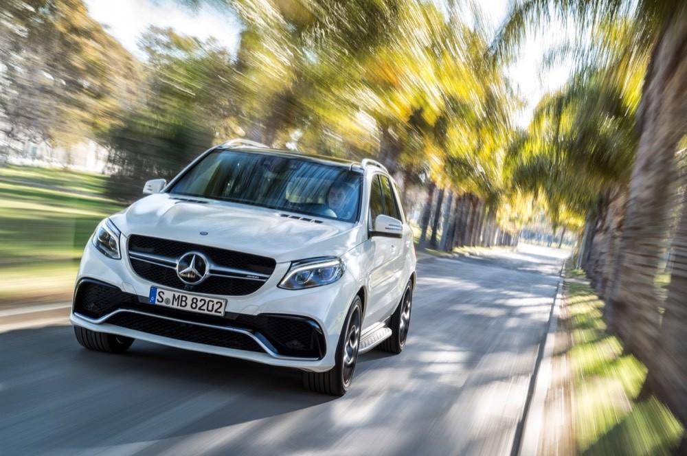 The Mercedes-Benz GLE-Class