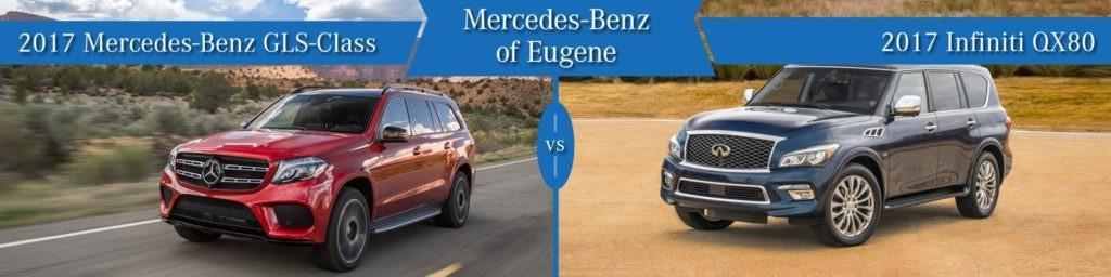 Mercedes-Benz GLS vs Infiniti QX80