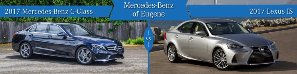 Mercedes-Benz C-Class vs. Lexus IS