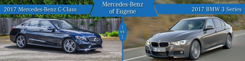 Mercedes-Benz C-Class vs. BMW 3-Series